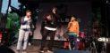 Erst Workshop, dann Bühne: NAchwuchs-Rapper mit dem Profi Roger Rekless